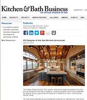 Kitchen Bath Business - Nicole Arnold press