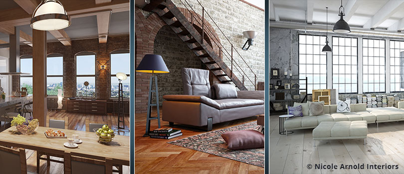 What Is The Industrial Chic Interior Design Style