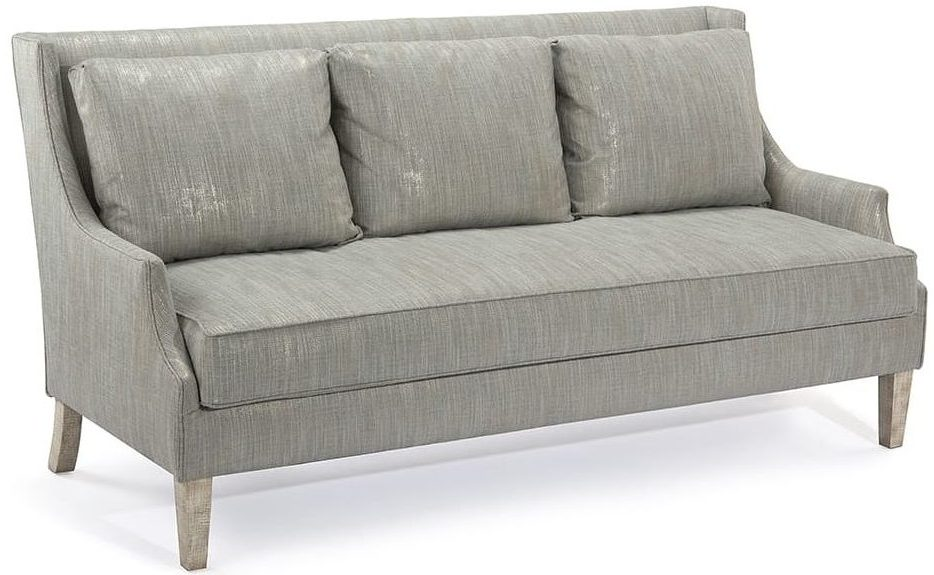 Modern High Back Glam Sofa